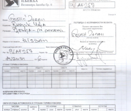Putni nalozi RUP - 08.08. - 14.08.2016