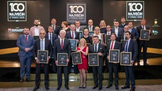 """Rudnik uglja AD jedna od """"100 najvećih u Crnoj Gori"""""""