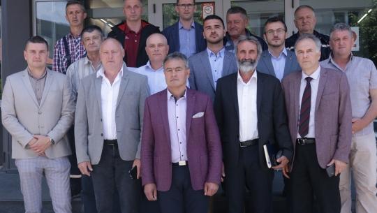 Izvršni direktor Milan Lekić organizovao svečani prijem za nove članove menadžmenta